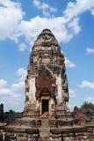 Wat Phra Sri Ratana Mahathat Thailand, pagod Royaltyfri Bild