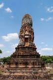 Wat Phra Sri Ratana Mahathat Thailand, pagod Arkivbild