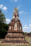 Wat Phra Sri Ratana Mahathat Thailand, pagod Royaltyfri Fotografi