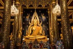 Wat Phra Sri Ratana Mahathat Wat Yai imágenes de archivo libres de regalías