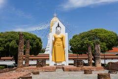 Wat Phra Sri Rattana Mahatat Woramahawihan bei Phitsanulok Thaila Lizenzfreie Stockfotos