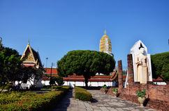 Wat Phra Sri Rattana Mahatat Woramahawihan chez Phitsanulok Thaïlande Images libres de droits
