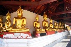 Wat Phra Sri Rattana Mahatat Woramahawihan a Phitsanulok Tailandia Fotografia Stock Libera da Diritti