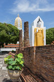Wat Phra Sri Rattana Mahatat Woramahawihan at Phitsanulok Thaila Royalty Free Stock Photos