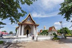 Wat Phra Sri Rattana Mahatat Woramahawihan at Phitsanulok Thaila Royalty Free Stock Image