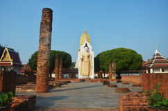 Wat Phra Sri Rattana Mahatat Woramahawihan at Phitsanulok Thailand Royalty Free Stock Photos