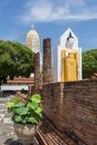 Wat Phra Sri Rattana Mahatat Woramahawihan przy Phitsanulok Thaila Zdjęcia Royalty Free