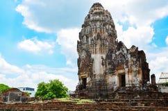 Wat Phra Sri Rattana Mahathat. In lopburi Thailand Stock Photos