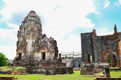 Wat Phra Sri Rattana Mahathat. In lopburi Thailand Stock Photography
