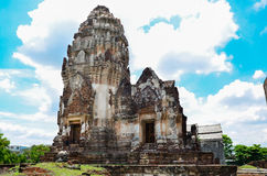 Wat Phra Sri Rattana Mahathat. In lopburi Thailand Stock Image