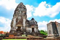 Wat Phra Sri Rattana Mahathat. In lopburi Thailand Stock Photo