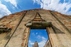 Wat Phra Sri Rattana Mahathat Obraz Royalty Free