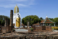 Wat Phra Sri Rattana Mahathat Obrazy Stock