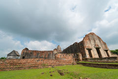 Wat Phra Sri Rattana Mahathat. Ancient remains Lop Buri thailand Royalty Free Stock Images