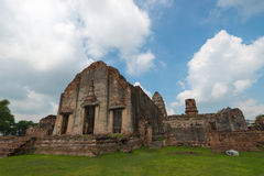 Wat Phra Sri Rattana Mahathat. Ancient remains Lop Buri thailand Stock Photos
