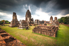 Wat Phra Sri Rattana Mahathat Historical park Stock Photo