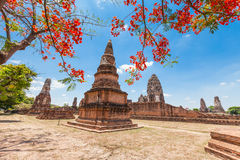 Wat Phra Sri Rattana Mahathat Historical park Royalty Free Stock Photos