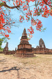 Wat Phra Sri Rattana Mahathat Historical park. In lopburi Thailand Royalty Free Stock Images