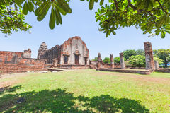 Wat Phra Sri Rattana Mahathat Historical park. In lopburi Thailand Royalty Free Stock Image
