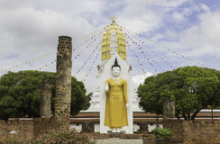 Wat Phra Sri Rattana Mahathat-Tempel, Phitsanulok, Thailand Stock Afbeeldingen