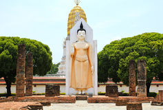 Wat Phra Sri Rattana Mahathat Temple Royalty Free Stock Photography