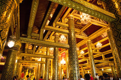 Wat Phra Sri Rattana Mahathat (Wat Yai) Photos libres de droits