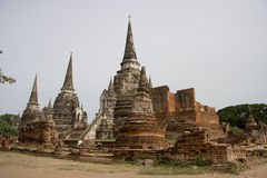 Wat Phra Sri San Phet temple, Ayutthaya, Thailand Royalty Free Stock Photos