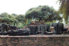 Wat Phra Sri Sanpetch Temple in Ayutthaya Stockfotografie