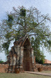 Wat Phra Sri Sanpetch Temple in Ayutthaya. The ruins of Wat Phra Sri Sanpetch Temple in Ayutthaya stock photo