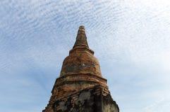 Wat Phra Sri Sanpetch Temple em Ayutthaya Foto de Stock