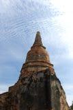 Wat Phra Sri Sanpetch Temple en Ayutthaya Imagen de archivo