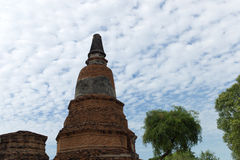 Wat Phra Sri Sanpetch Temple en Ayutthaya Fotos de archivo
