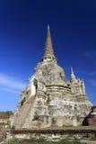 Wat Phra Sri Sanphet寺庙, Ayutthaya 免版税库存图片