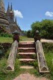 Wat Phra Sri Sanphet στο ιστορικό πάρκο Ταϊλάνδη Ayutthaya Στοκ εικόνες με δικαίωμα ελεύθερης χρήσης
