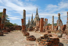 Wat Phra Sri Sanphet Royalty Free Stock Photography
