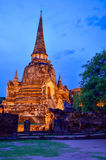 Wat Phra Sri Sanphet Fotografia Stock Libera da Diritti
