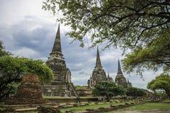Wat Phra Sri Sanphet royalty-vrije stock foto's