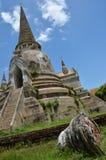 Wat Phra Sri Sanphet al parco storico Tailandia di Ayutthaya Fotografia Stock Libera da Diritti