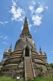Wat Phra Sri Sanphet al parco storico Tailandia di Ayutthaya Fotografie Stock Libere da Diritti