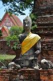 Wat Phra Sri Sanphet au parc historique Thaïlande d'Ayutthaya Photo stock