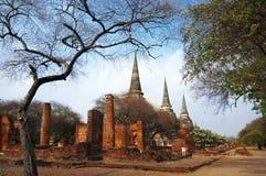 Wat Phra Sri Sanphet, Ayudhya Province, Thailand Stock Images
