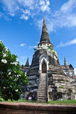 Wat Phra Sri Sanphet of  Ayutthaya Stock Photo