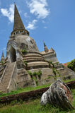 Wat Phra Sri Sanphet at Ayutthaya Historical Park Thailand Royalty Free Stock Photo