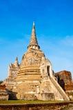 Wat Phra Sri Sanphet, Ayutthaya, Tailandia Fotografía de archivo libre de regalías