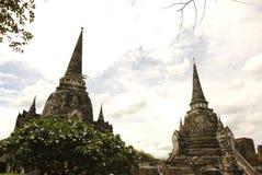 Wat phra sri sanphet Ayutthaya Thailand Royalty Free Stock Photography