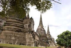 Wat phra sri sanphet Ayutthaya Thailand Stock Images