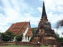 Wat Phra Sri Sanphet Ayutthaya, Thailand Royaltyfri Foto