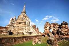 Wat Phra Sri Sanphet, Ayutthaya, Thailand Stock Images