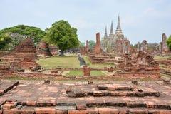 Wat Phra Sri Sanphet, Ayutthaya,Thailand Stock Photos