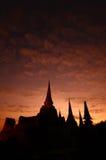 Wat Phra Sri Sanphet, Ayutthaya, Thailand Royalty Free Stock Image